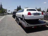 Towing a limo