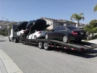 Towing several cars